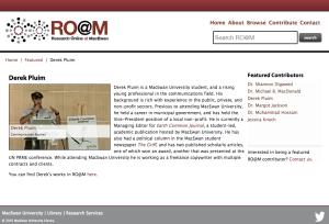 Research Online at MacEwan
