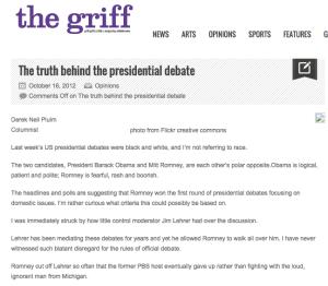 The truth behind the presidential debate