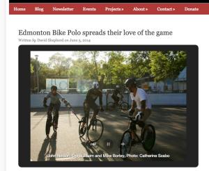 The Local Good: Edmonton Bike Polo